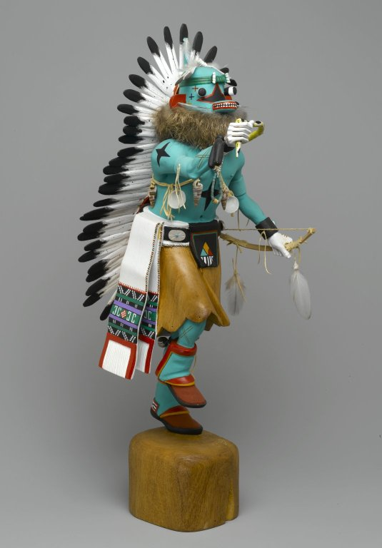 Blue Star Kachina Doll (page 3) - Pics about space