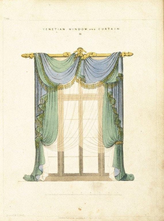 Brooklyn museum decorative arts irvington house aka for 18th century window treatments