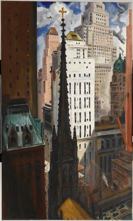 The Modern City New York City In Visual Art America In The 1920s