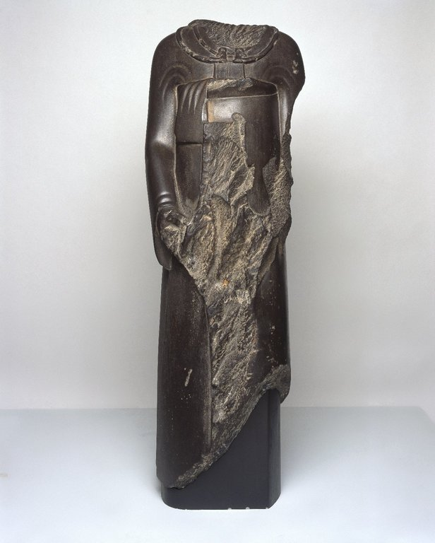 Brooklyn Museum: Overseer of the Treasury Ptahhotep in Persian Costume