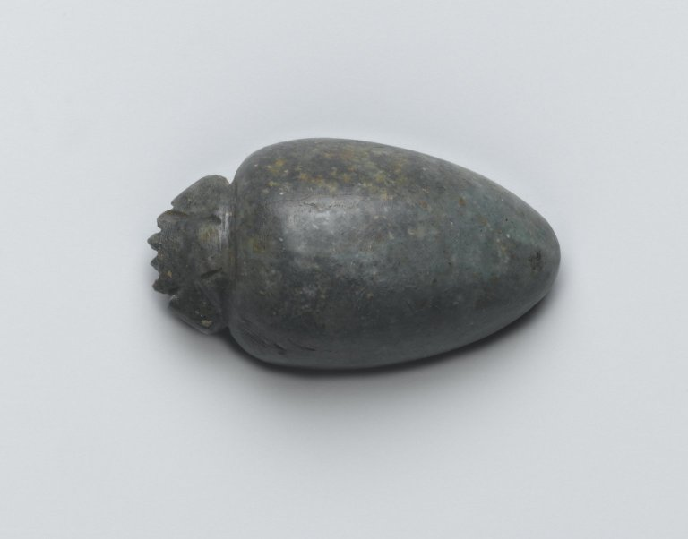 Brooklyn Museum: Heart Amulet with Head of a Scarab