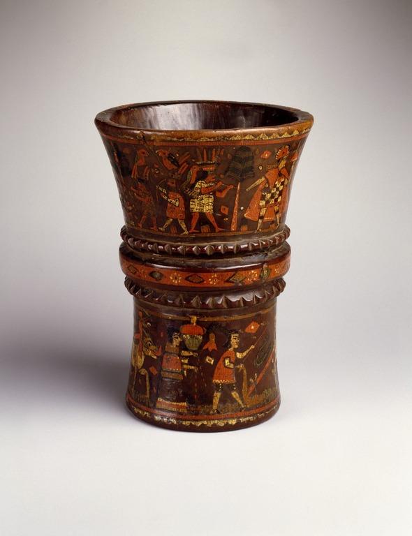 Brooklyn Museum Arts Of The Americas Kero Cup