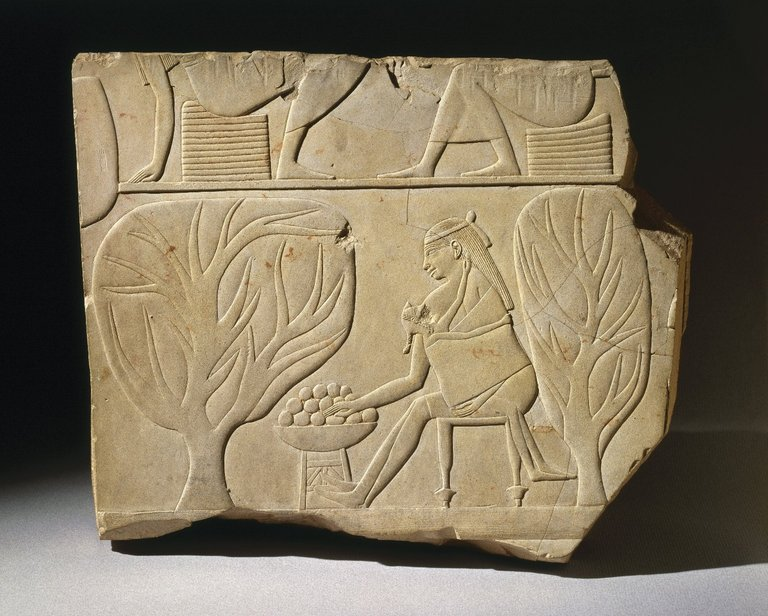 Brooklyn Museum: Tomb Relief Fragment