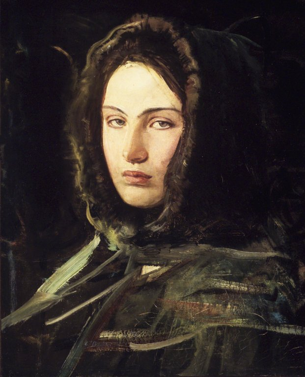 Think, that women in hoods paintings think