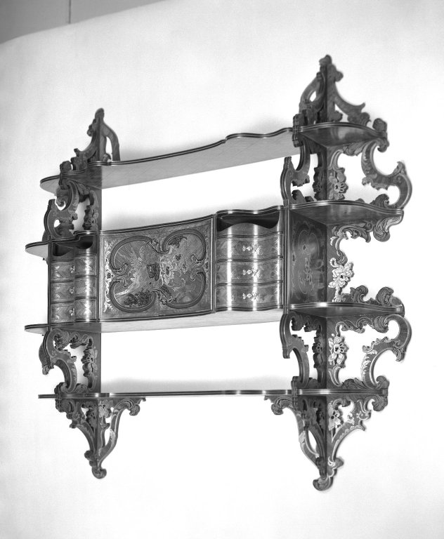 Brooklyn Museum: Hanging Wall Cabinet