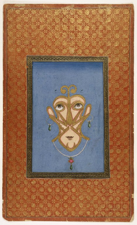 Brooklyn Museum: Calligraphic Face