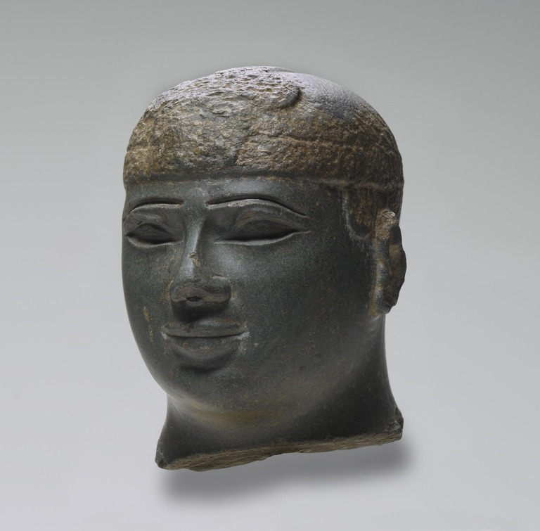Brooklyn Museum: Head of a Kushite Ruler