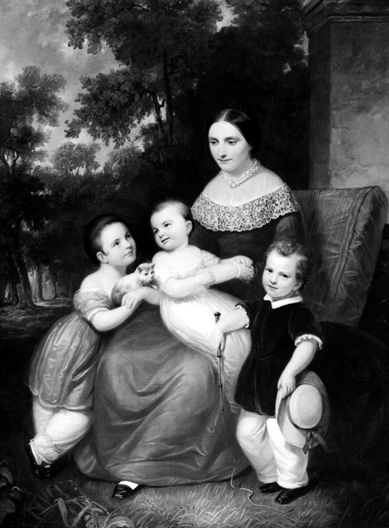 Brooklyn Museum: Ellen Almira Low and Her Three Children