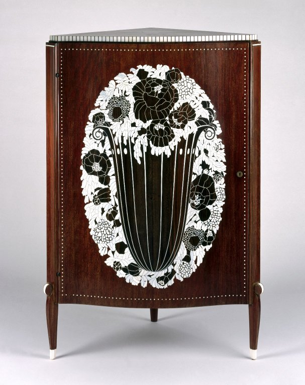 Brooklyn Museum: Corner Cabinet
