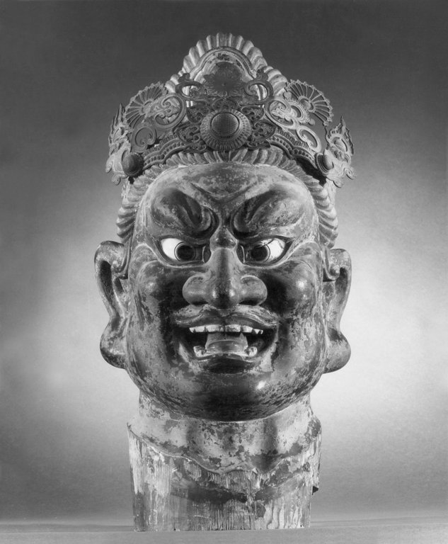 Brooklyn Museum: Head of a Guardian