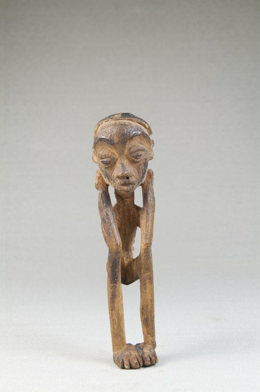 Brooklyn Museum: Figure of a Squatting Male