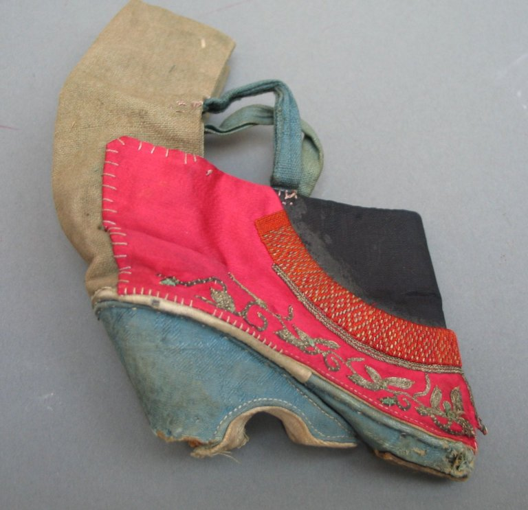 Brooklyn Museum: Asian Art: Shoe For A Woman's Bound Feet