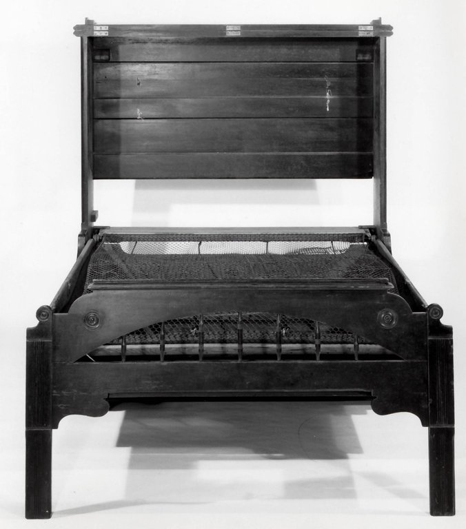 Brooklyn Museum: Convertible Bed in Form of Upright Piano