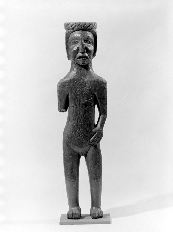 Brooklyn Museum: Wooden Figure