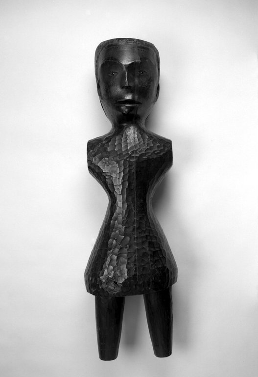 Brooklyn Museum: Figure of a Standing Female Used in a Potlatch