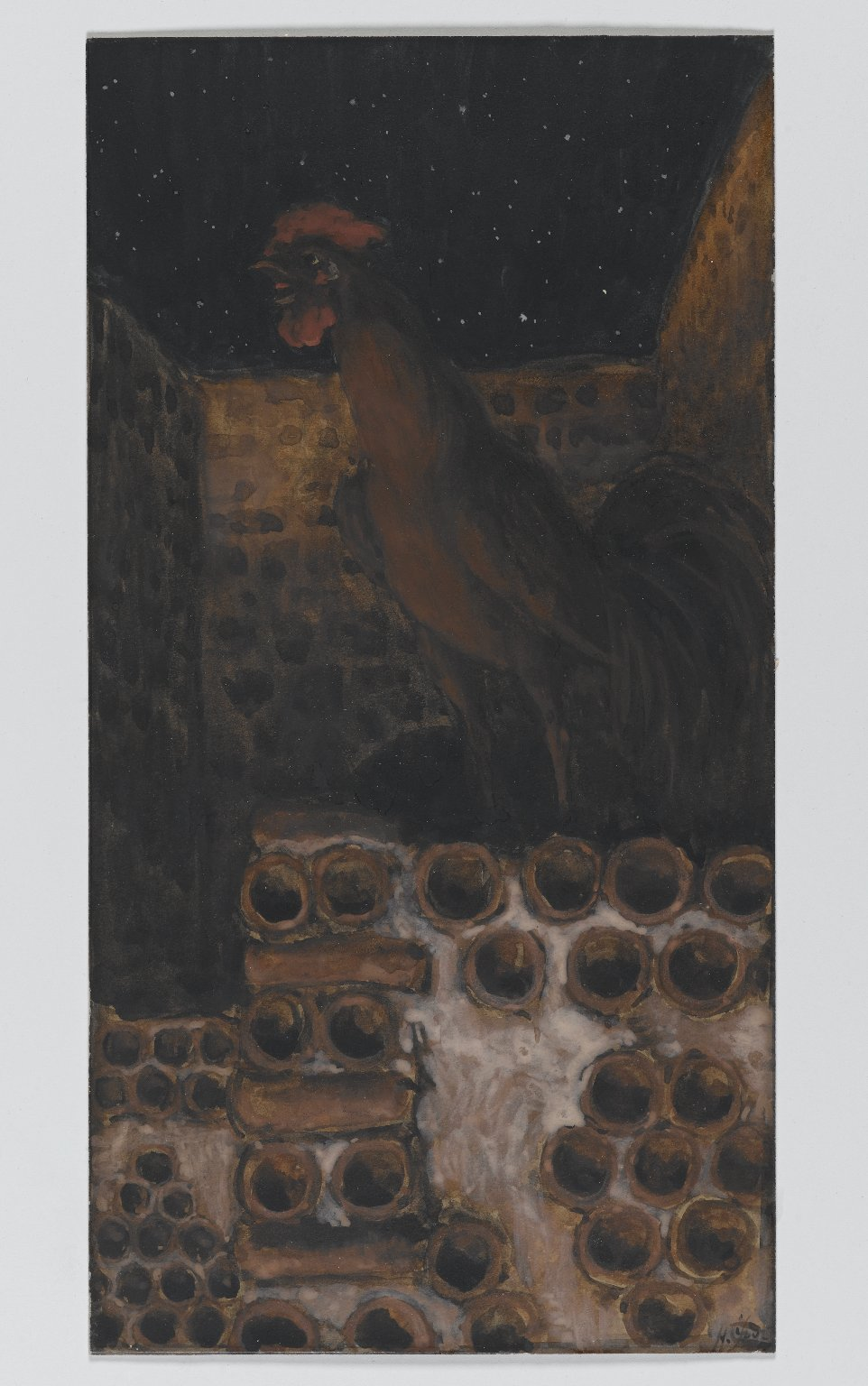 Brooklyn Museum: The Cock Crowed (Le coq chanta)