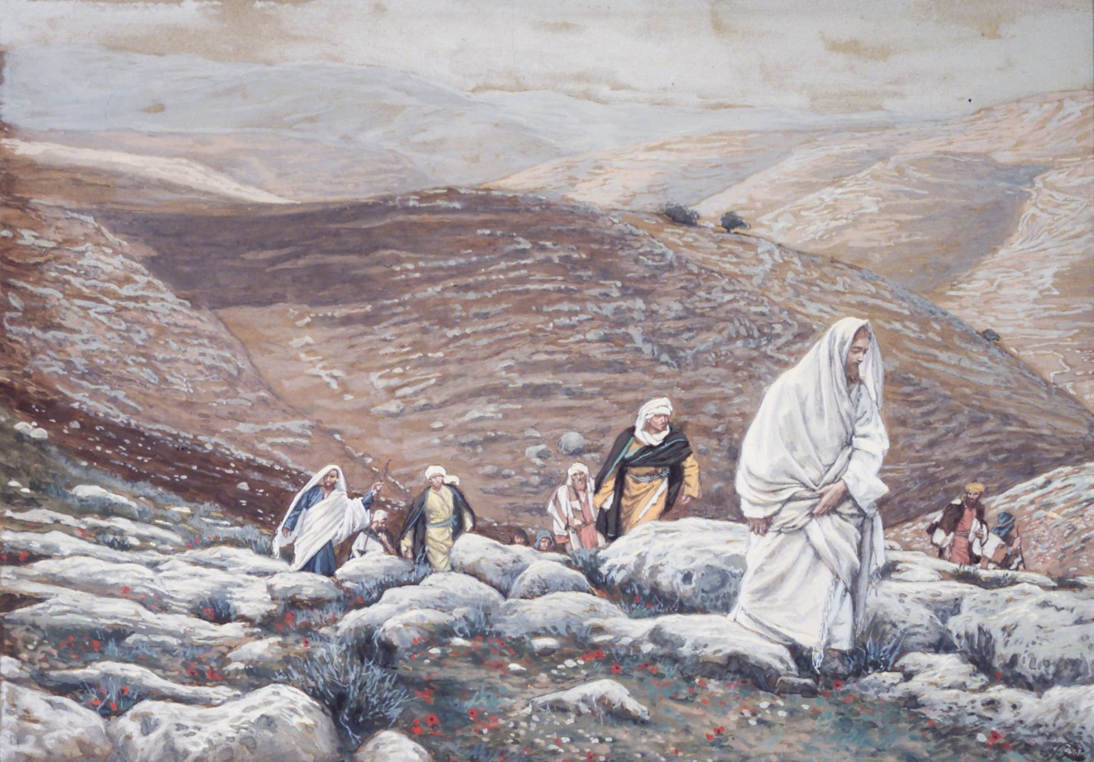 With Passover Approaching, Jesus Goes Up to Jerusalem