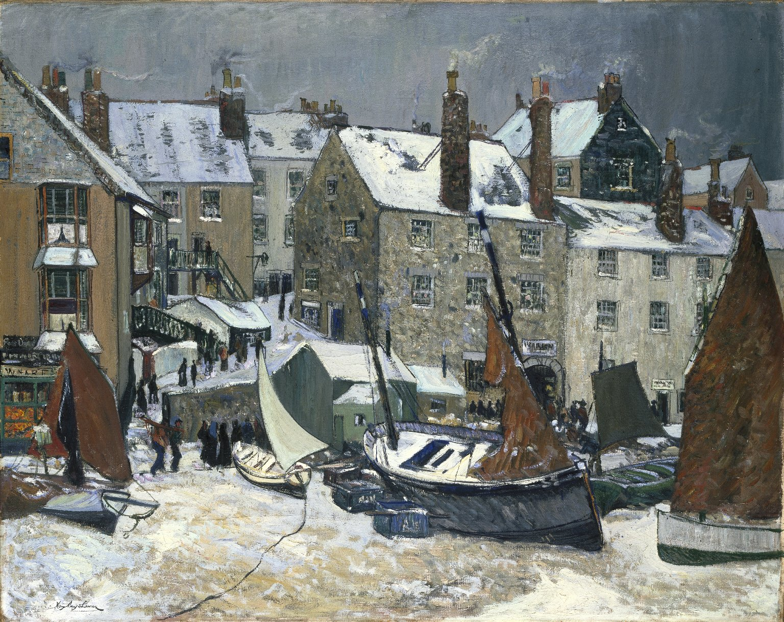 Brooklyn Museum: Winter, St. Ives