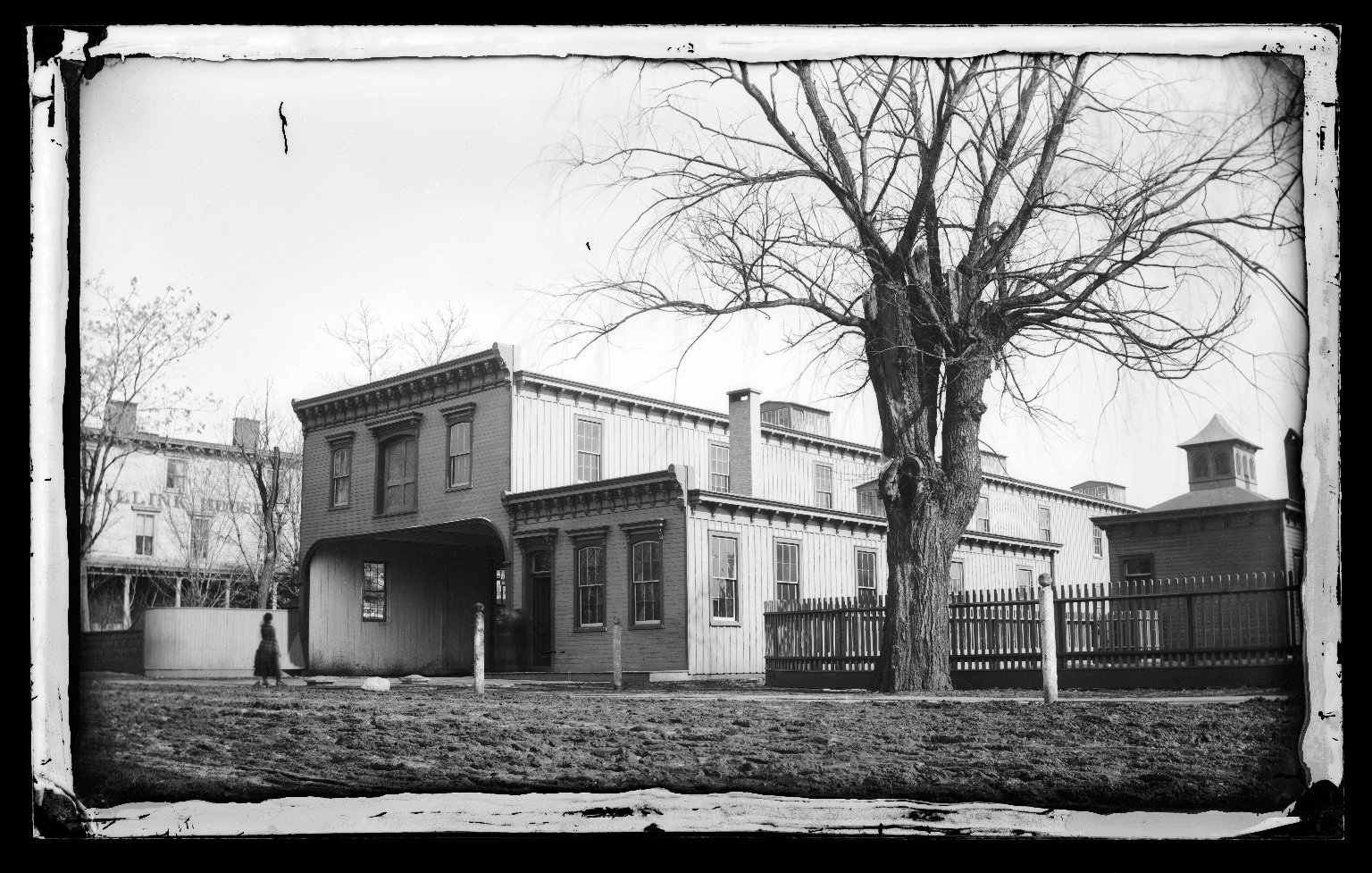 Brooklyn Museum: Railroad Station Car Stables, Flatbush, Brooklyn
