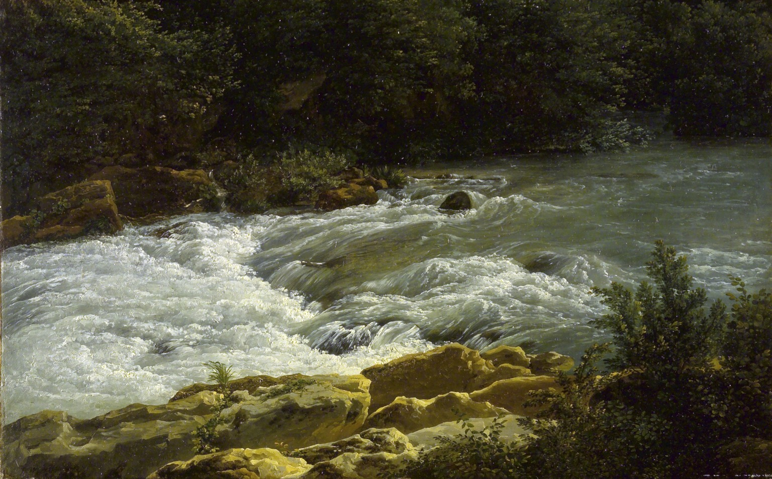 Brooklyn Museum: Running Stream at San Cosimato