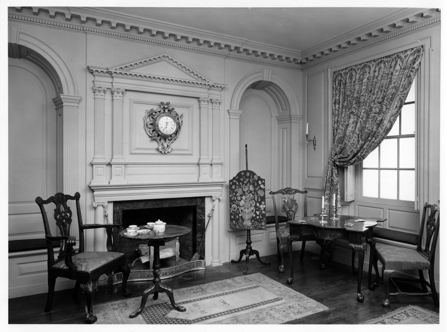 Brooklyn Museum: The North East Parlor of Joseph Russell House