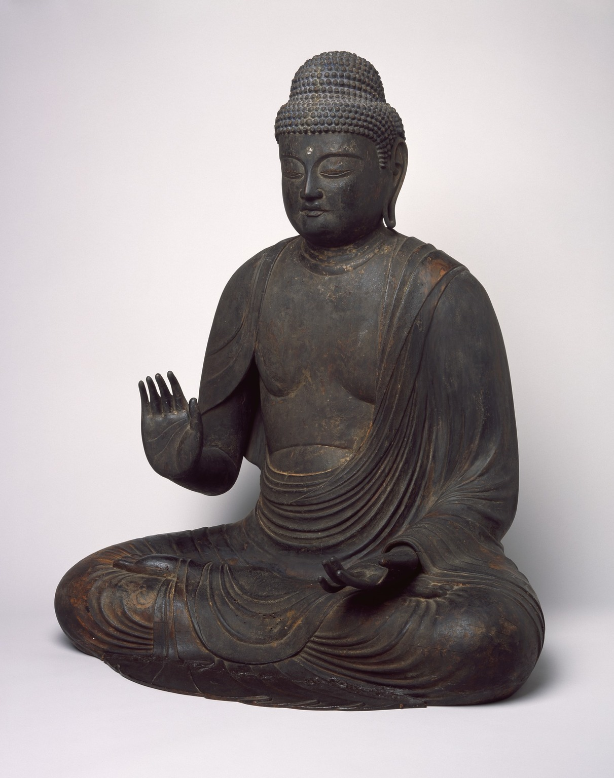 Brooklyn Museum: Figure of Seated Buddha