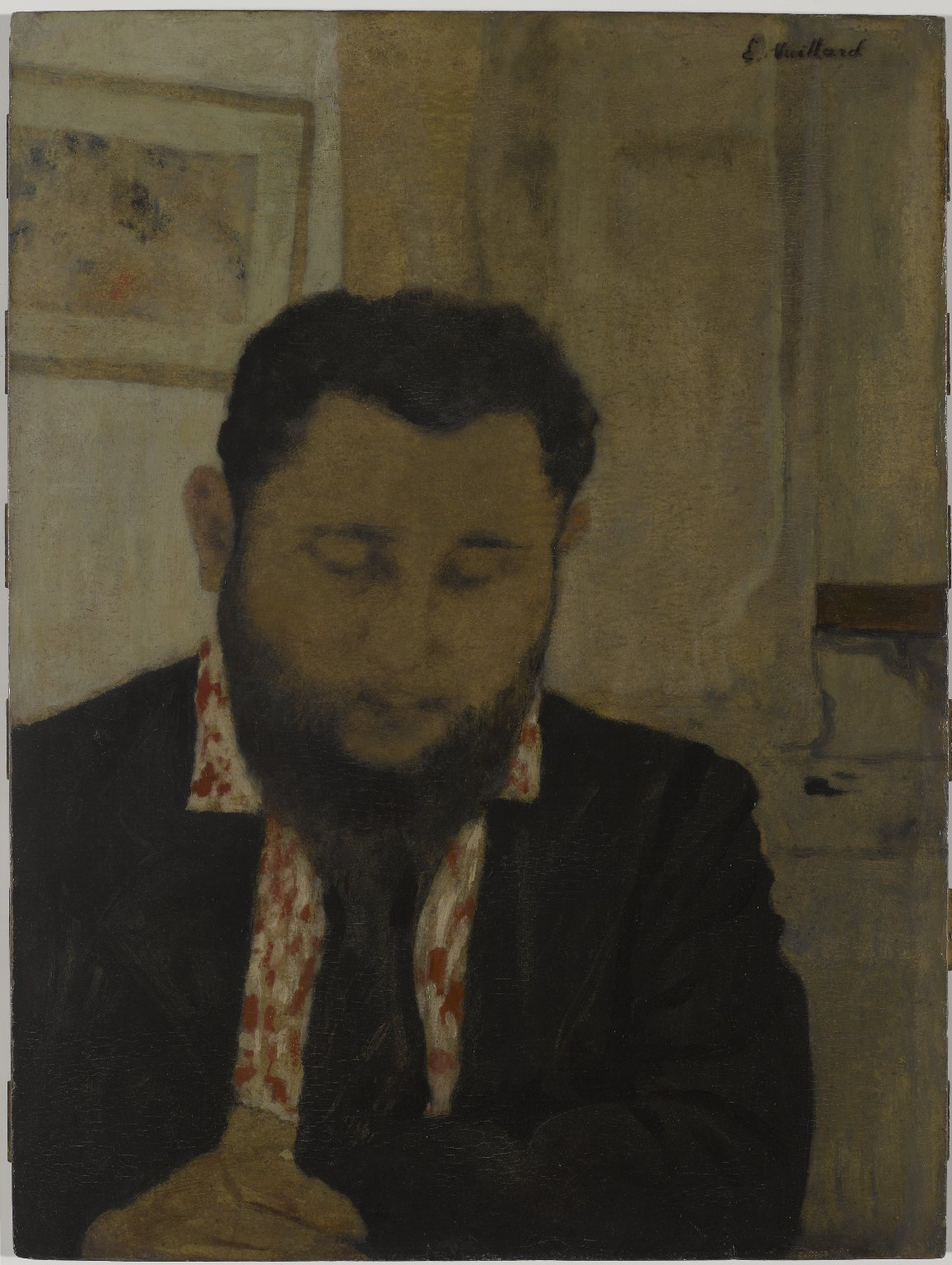Brooklyn Museum: Portrait of Thadée Natanson