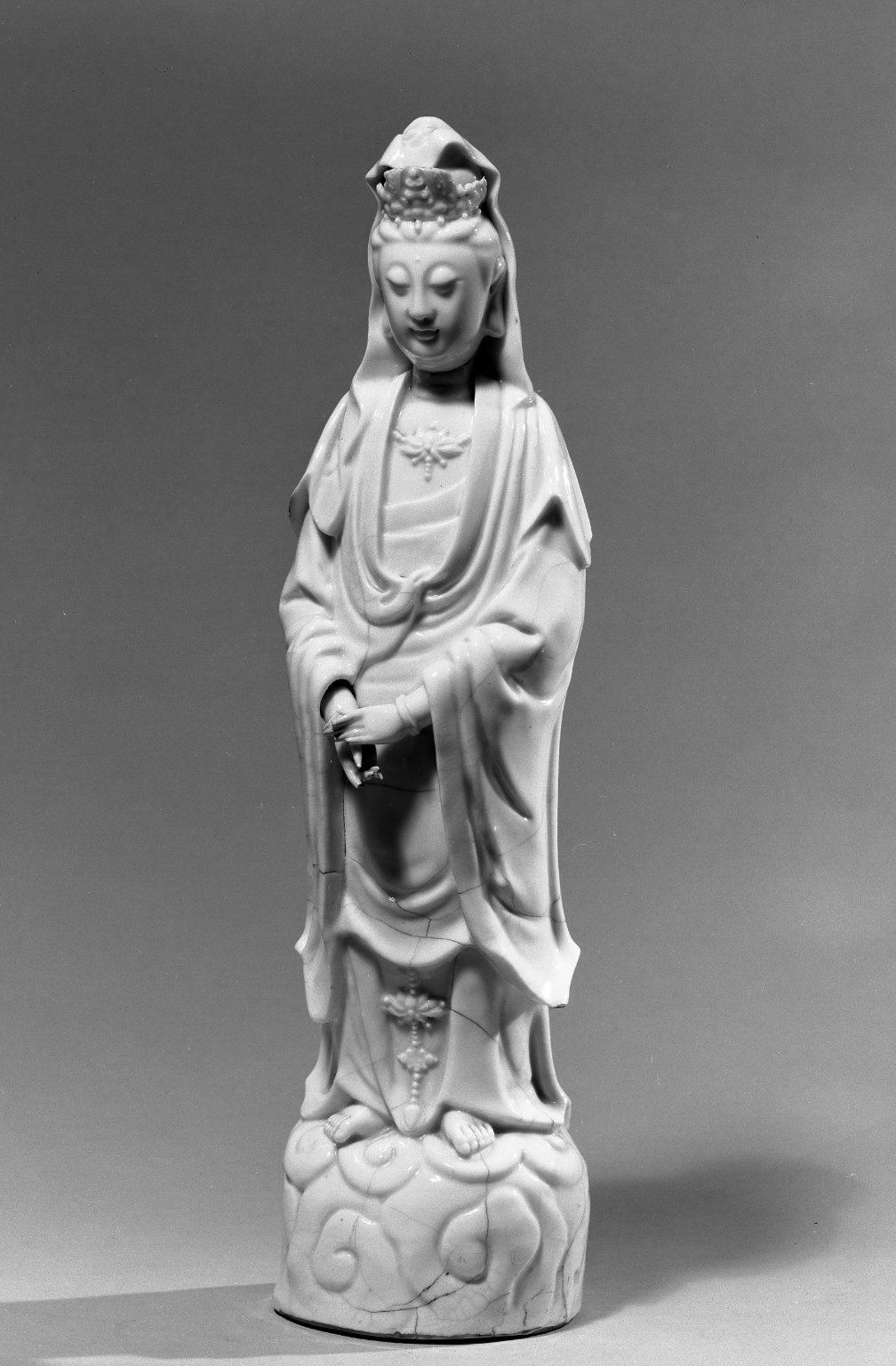 Brooklyn Museum: Figure of Guanyin