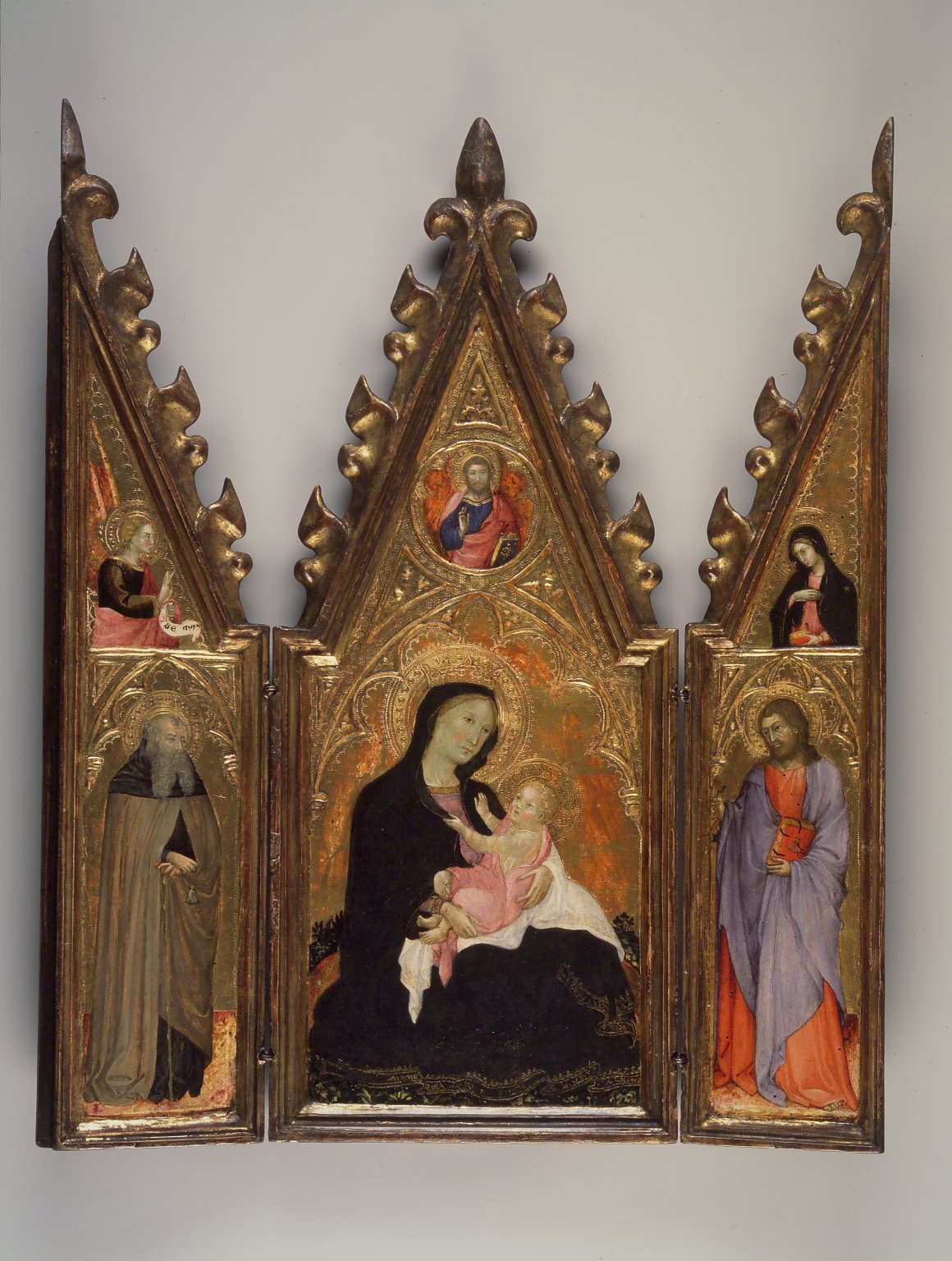 Brooklyn Museum: Madonna of Humility, portable altarpiece