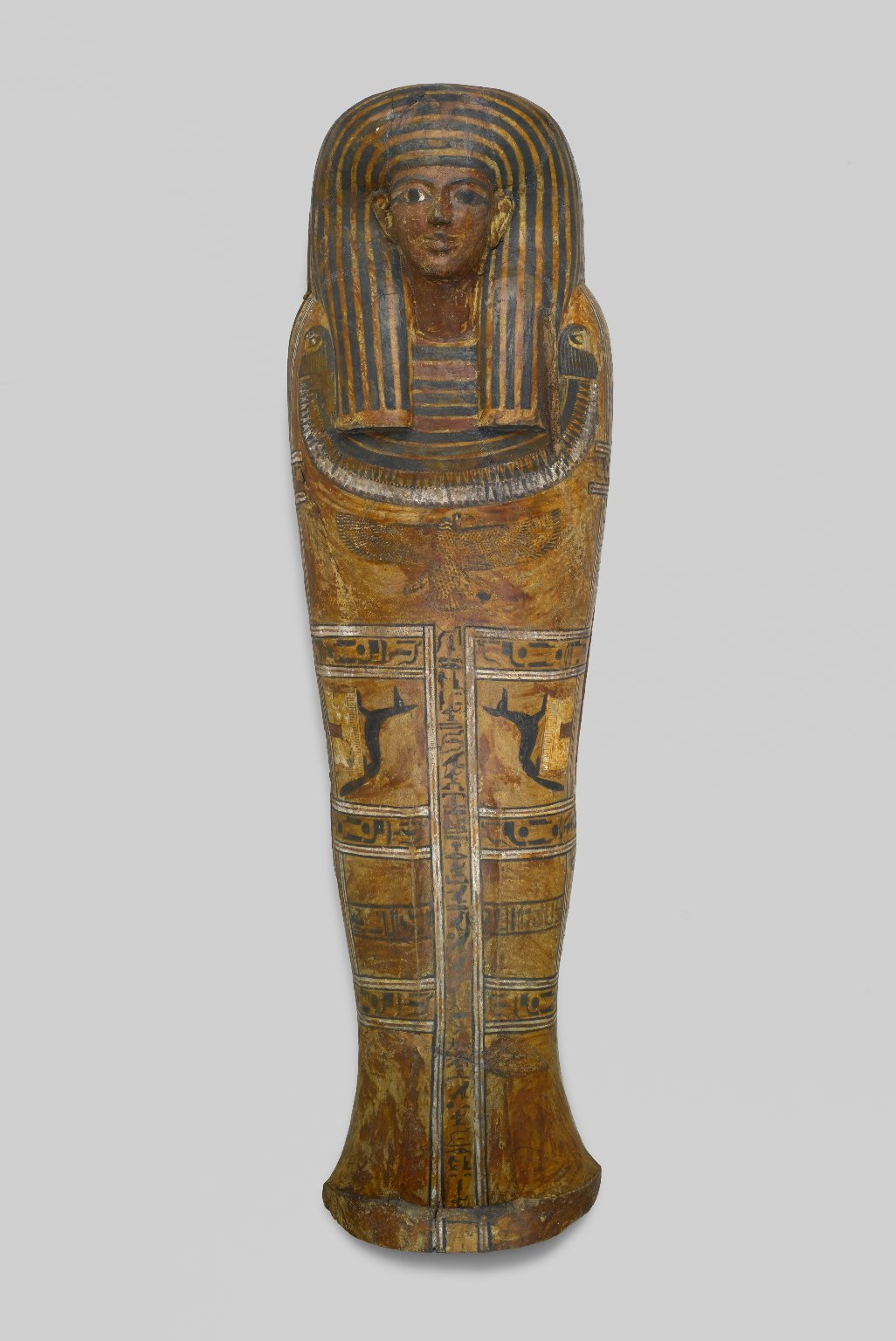 Brooklyn Museum: Anthropoid Coffin of the Servant of the Great Place, Teti