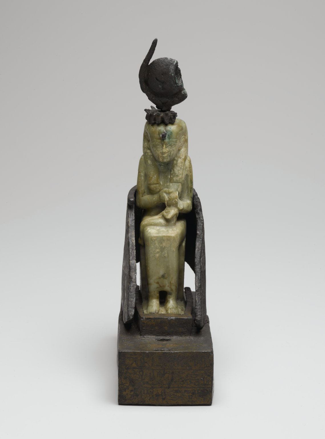 Brooklyn Museum: Isis Nursing Horus