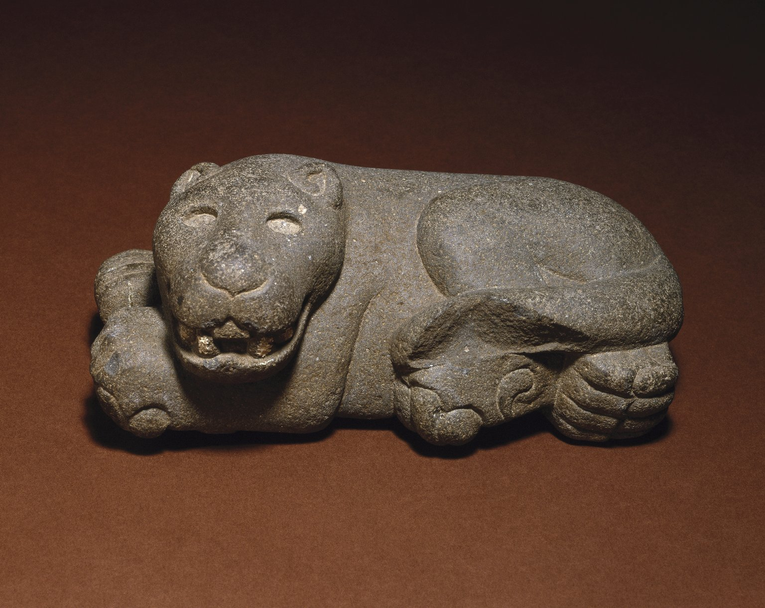 Brooklyn Museum: Reclining Jaguar