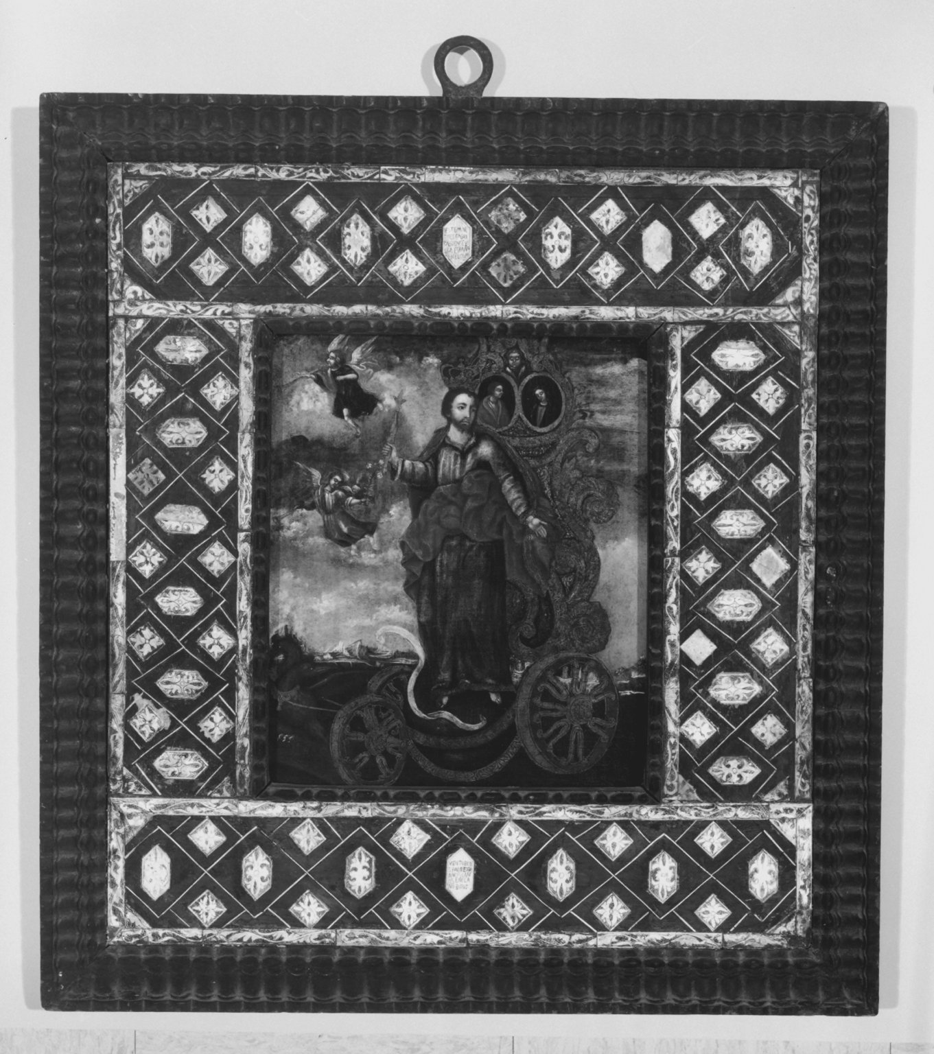 Brooklyn Museum: Triumph of Christ the King - Christ on a Chariot