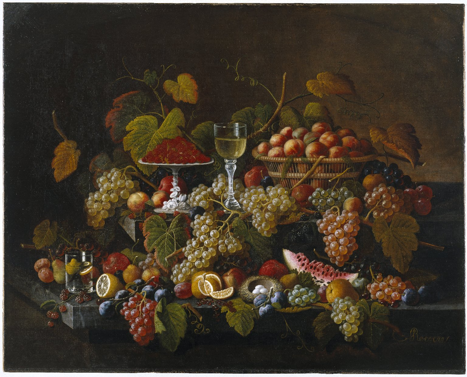 Brooklyn Museum: Still Life with Fruit