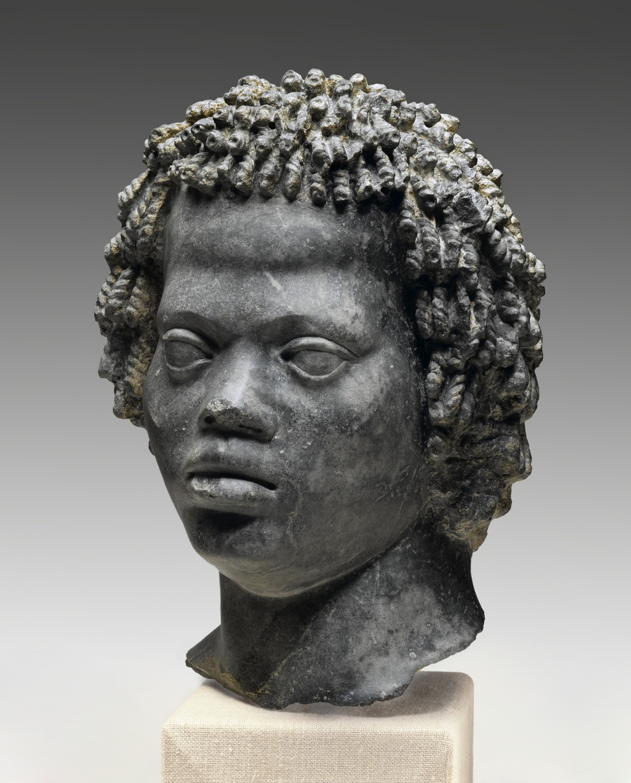 Brooklyn Museum: Head of a Man