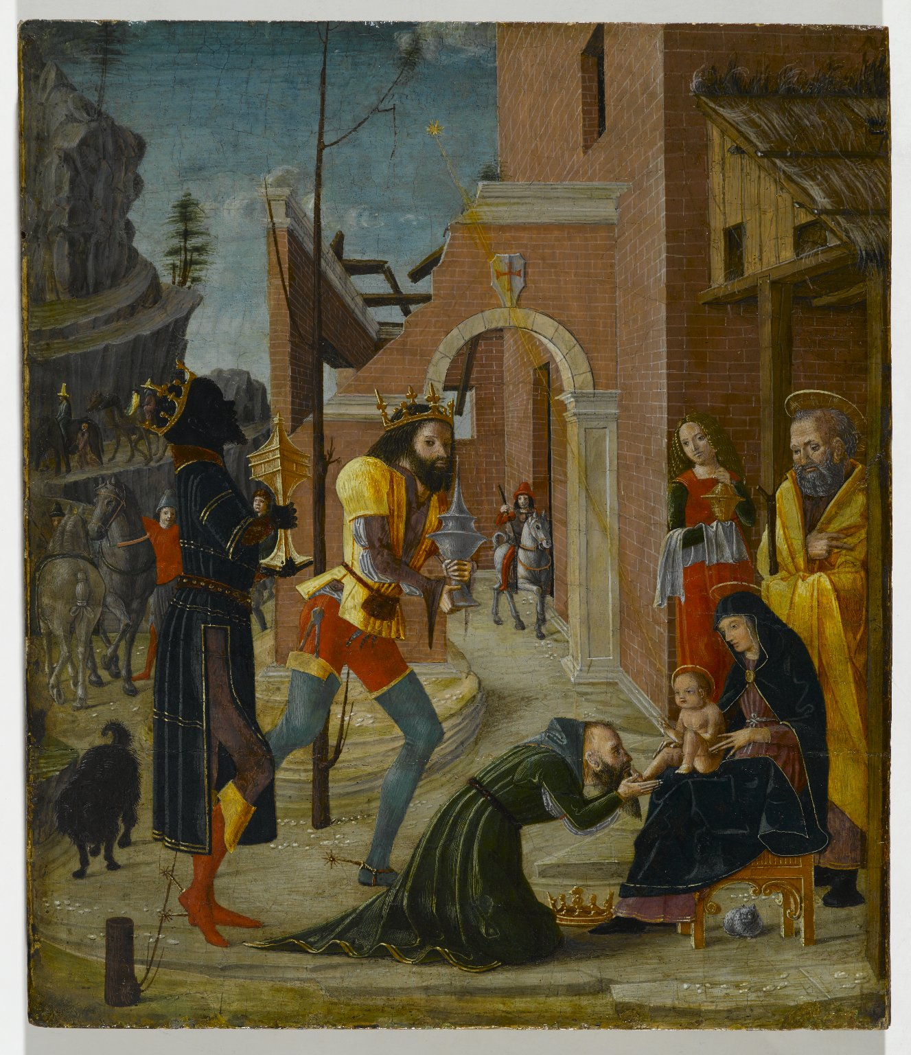Brooklyn Museum: The Adoration of the Magi