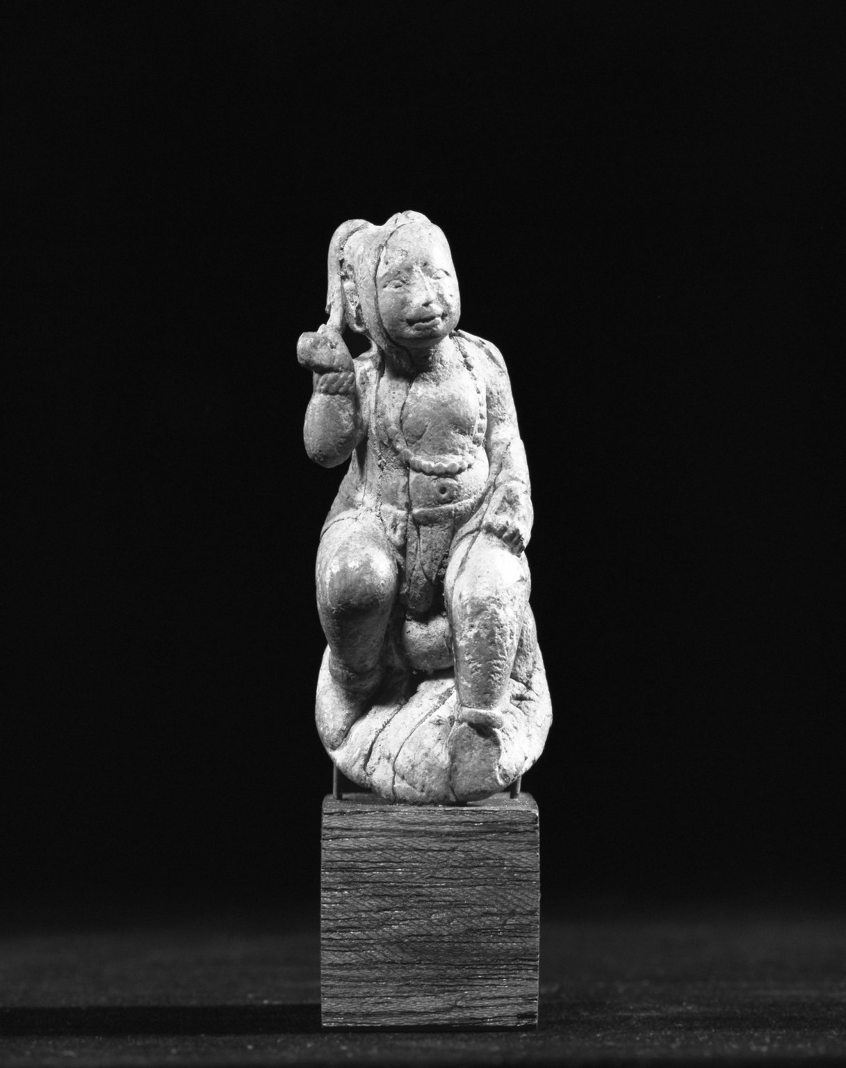 Brooklyn Museum: Seated Figure