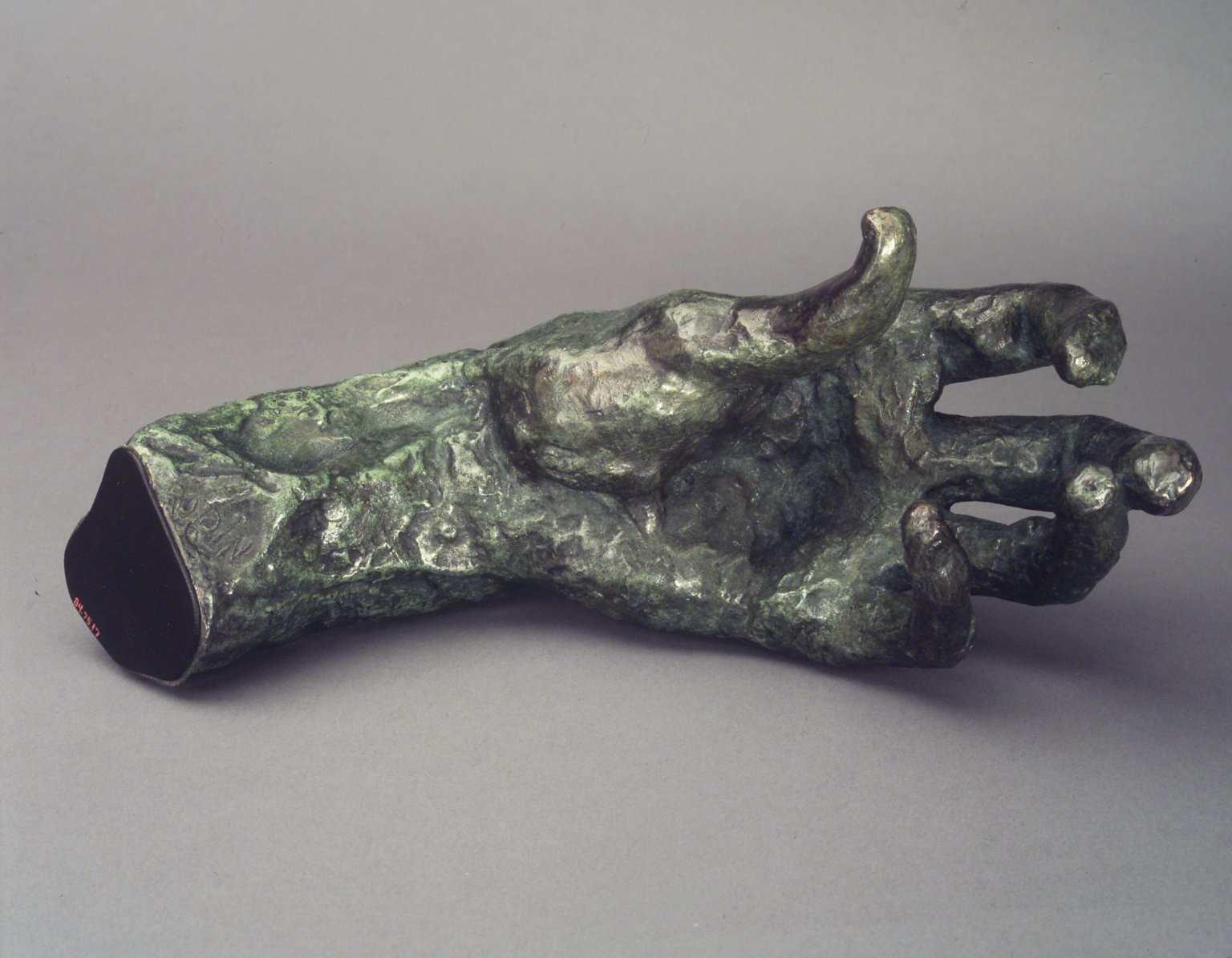 Brooklyn Museum: Large Left Hand (Grande main gauche)