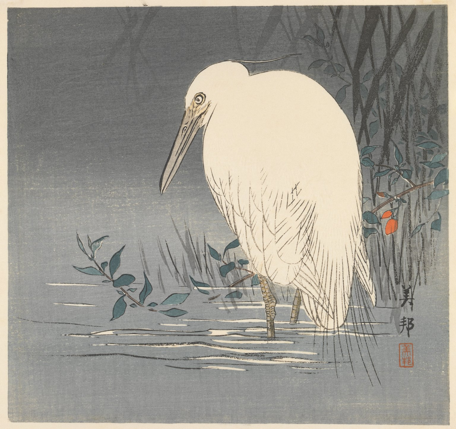 a white heron thesis statement