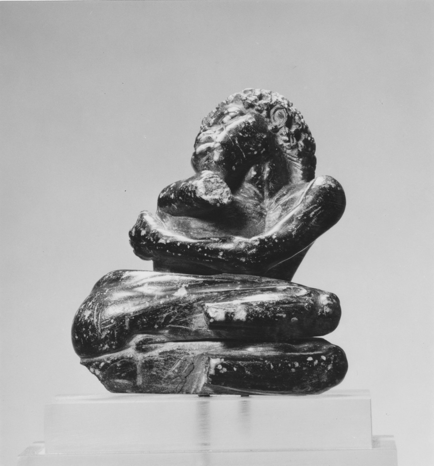 Brooklyn Museum: Statuette of a Nubian Captive