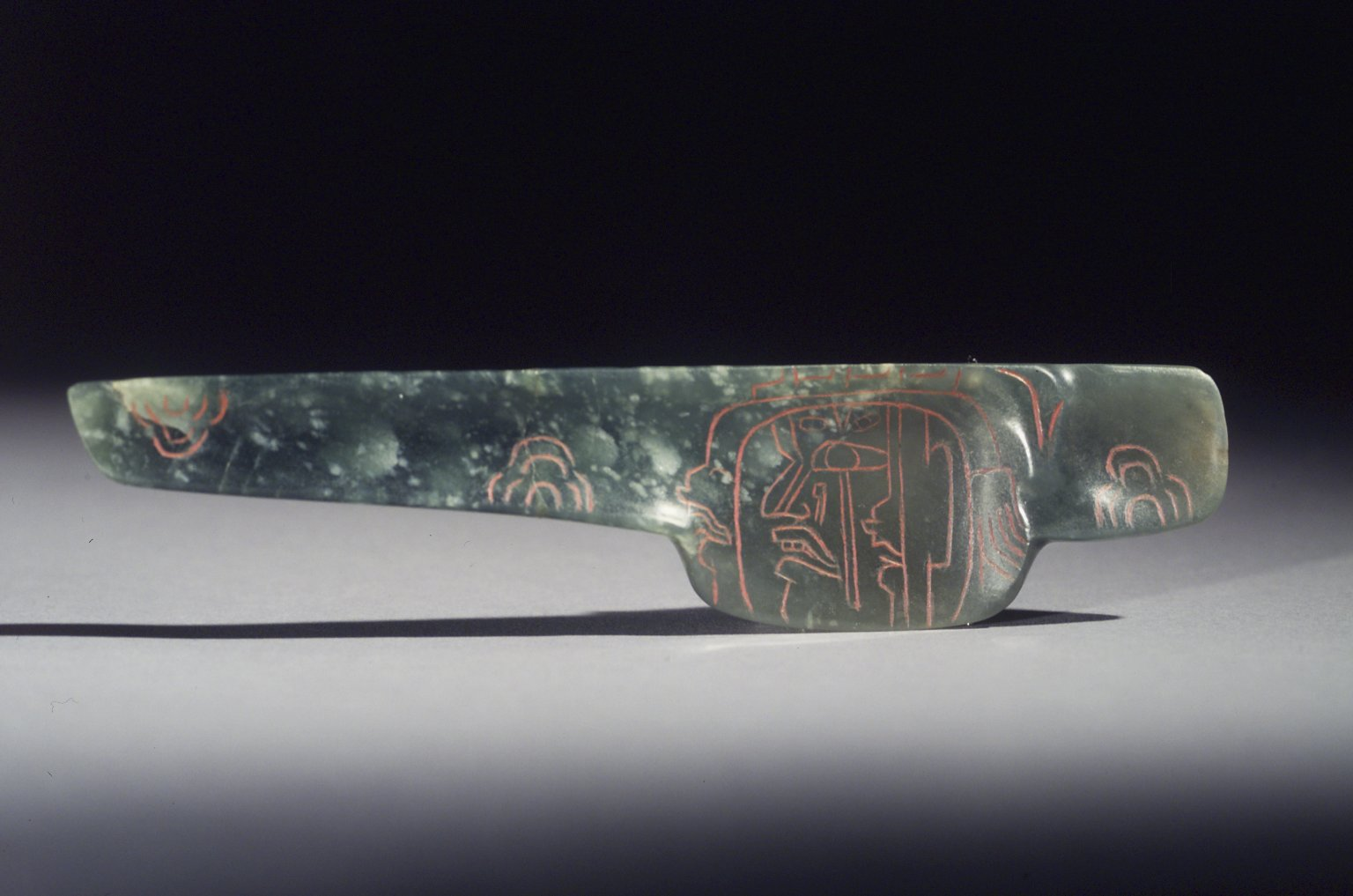Brooklyn Museum: Spoon with Incised Designs