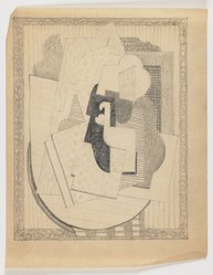 Blanche Lazzell (American, 1879-1956). Untitled, 1924. Graphite on thin wove paper, Sheet: 10 5/8 x 8 1/4 in. (27 x 21 cm). Brooklyn Museum, Gift of Harriette and Martin Diamond, 1989.162.7. © artist or artist's estate