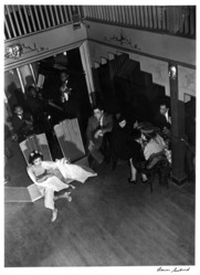 Aaron Siskind (American, 1903-1991). Nightclub I, ca. 1937. Gelatin silver photograph, Sheet: 14 x 10 7/8 in. Brooklyn Museum, Gift of Dr. Daryoush Houshmand, 1989.193.17. © Aaron Siskind Foundation
