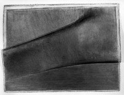 Louis Lieberman. Tarboosh, 1981. Graphite on paper, 38 x 29 1/2 in. (96.5 x 74.9 cm). Brooklyn Museum, Gift of Paul Taylor, 1989.85. © artist or artist's estate