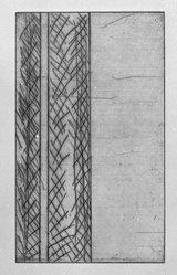 Gunther Forg (German, born 1952). [Untitled], 1989. Etching, aquatint and drypoint, Sheet (folio): 14 5/8 x 12 3/4 in. (37.1 x 32.4 cm). Brooklyn Museum, Helen Babbott Sanders Fund and John W. James Fund, 1990.123.9. © artist or artist's estate