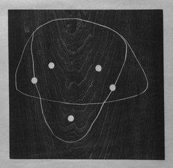Joel Shapiro (American, born 1941). Untitled, 1988. Woodcut, sheet: 21 5/8 x 16 1/2 in. (54.9 x 41.9 cm). Brooklyn Museum, Charles Stewart Smith Memorial Fund, 1990.124. © artist or artist's estate