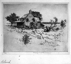 George T. Plowman (American, 1860-1932). Jan Martense Schenck, n.d. Etching, Image: 6 15/16 x 9 1/16 in. (17.6 x 23 cm). Brooklyn Museum, Gift of Mrs. Erastus Corning V, 1990.206. © artist or artist's estate