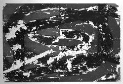 David Row. Untitled, 1988. Monotype on paper, sheet: 42 x 30 1/4 in. (106.7 x 76.8 cm). Brooklyn Museum, Gift of Garner Tullis and Pamela Auchincloss, 1990.47. © artist or artist's estate