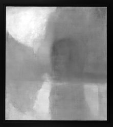 Ellen Phelan (American, born 1943). Island in the River - River Test, 1989. Oil on linen, 51 1/4 x 45 5/8 in. (130.2 x 115.9 cm). Brooklyn Museum, Gift of Edward A. Bragaline, by exchange, 1991.11. © artist or artist's estate