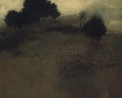 Richard Mayhew (American, born 1934). Pastoral, ca. 1963. Oil on canvas, 49 1/2 x 61 1/2in. (125.7 x 156.2cm). Brooklyn Museum, Gift of Mr. and Mrs. Martin E. Segal, 1991.211.2. © artist or artist's estate